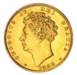 Coin > ½ sovereign, 1826-1828 - United Kingdom  - obverse