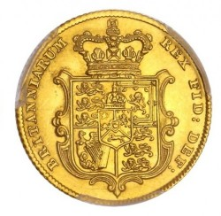 Coin > ½ sovereign, 1826-1828 - United Kingdom  - reverse