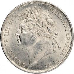 Монета > 1шилінг, 1823-1825 - Велика Британія  - obverse