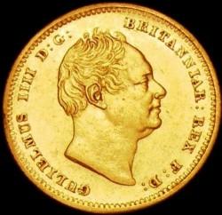 Münze > ½Sovereign, 1835-1837 - Vereinigtes Königreich   - obverse