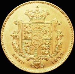 Münze > ½Sovereign, 1835-1837 - Vereinigtes Königreich   - reverse