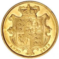 Moeda > 1sovereign, 1831-1837 - Reino Unido  - reverse