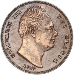 Münze > 1Farthing, 1831-1837 - Vereinigtes Königreich   - obverse