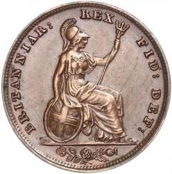 Münze > 1Farthing, 1831-1837 - Vereinigtes Königreich   - reverse