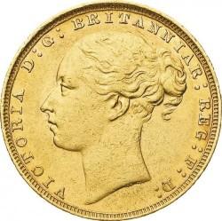 Coin > 1pound(sovereign), 1871-1885 - United Kingdom  - obverse