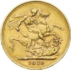 Coin > 1pound(sovereign), 1871-1885 - United Kingdom  - reverse