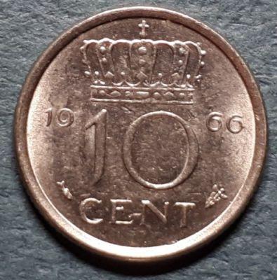 10 Cent 1966 Niederlande Münzen Wert Ucoinnet