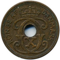 Monedă > 1ore, 1941 - Insulele Feroe  - obverse