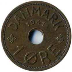 Monedă > 1ore, 1941 - Insulele Feroe  - reverse