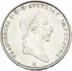 Монета > 1скудо, 1822-1832 - Ломбардо-Венеційське  - obverse