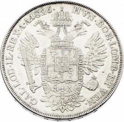 Монета > 1скудо, 1822-1832 - Ломбардо-Венеційське  - reverse