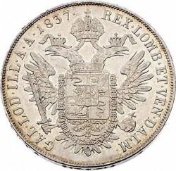 Монета > 1скудо, 1837-1846 - Ломбардо-Венеційське  - reverse