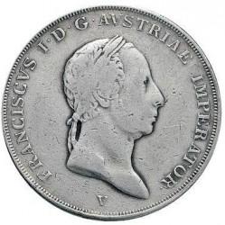 Монета > ½скудо, 1822-1835 - Ломбардо-Венеційське  - obverse