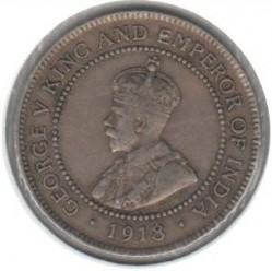Minca > 1penny, 1914-1928 - Jamajka  - obverse