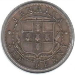Minca > 1penny, 1914-1928 - Jamajka  - reverse
