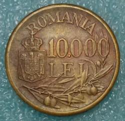Munt > 10000lei, 1947 - Roemenië  - reverse