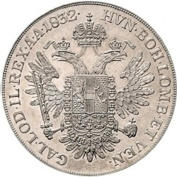 Monedă > 1taler, 1832-1835 - Austria  - reverse