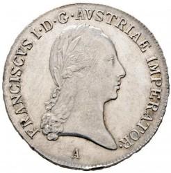 Monedă > ½taler, 1817-1824 - Austria  - obverse