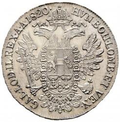 Monedă > ½taler, 1817-1824 - Austria  - reverse