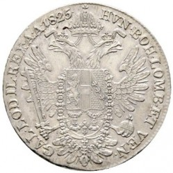 Monedă > ½taler, 1825-1830 - Austria  - reverse