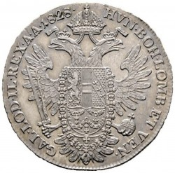 Монета > ½талер, 1825-1830 - Австрия  - reverse