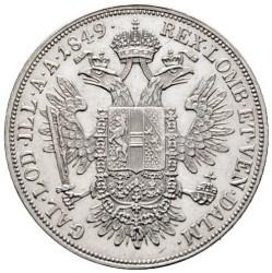 Monedă > ½taler, 1848-1851 - Austria  - reverse