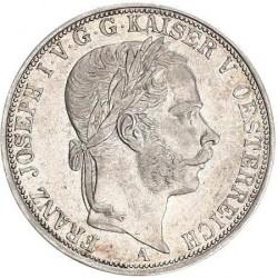 Монета > 1верейнсталер, 1866-1867 - Австрия  - obverse