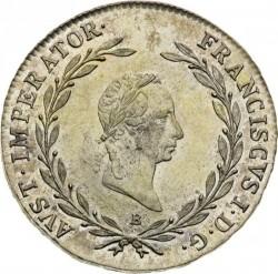 Монета > 20кройцера, 1825-1828 - Австрия  - obverse