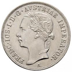 Moneta > 20kreicerių, 1852 - Austrija  (Portretas į kairę) - obverse
