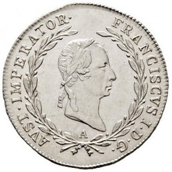 Монета > 10кройцера, 1825-1830 - Австрия  - obverse