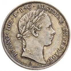 Monedă > 10сreițari, 1852-1855 - Austria  - obverse