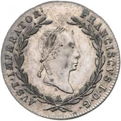 Moneda > 5kreuzer, 1825-1830 - Austria  - obverse