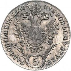 Moneda > 5kreuzer, 1825-1830 - Austria  - reverse