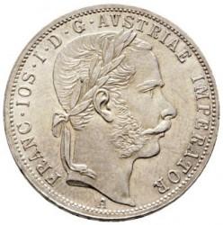 Монета > 1флорин, 1866 - Австрія  - obverse