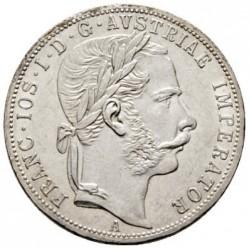 Монета > 1флорин, 1867-1871 - Австрія  - obverse