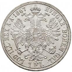 Монета > 1флорин, 1867-1871 - Австрія  - reverse