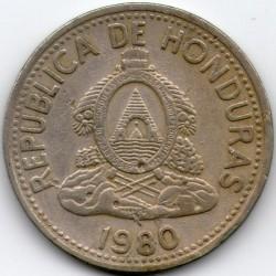 錢幣 > 10分, 1954-1993 - 宏都拉斯  - obverse