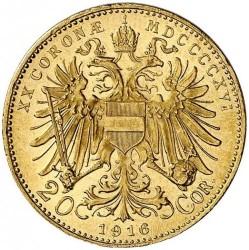 Moneta > 20corone, 1916 - Austria  - reverse
