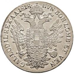 Монета > 1талер, 1817-1824 - Австрія  - reverse