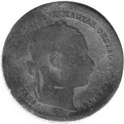 Moeda > 10krajcar, 1868-1869 - Hungria  - obverse