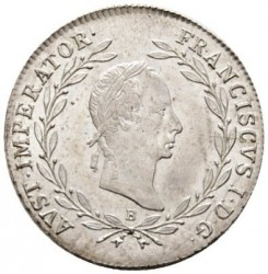 Монета > 20кройцера, 1829-1830 - Австрия  - obverse