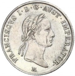Moneda > 20kreuzer, 1831-1835 - Àustria  - obverse