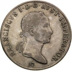 Монета > 20крейцерів, 1831-1835 - Австрія  - obverse