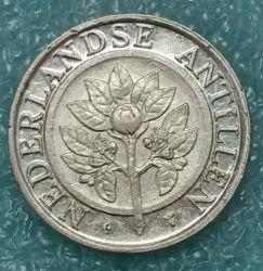 Νόμισμα > 25Σεντς, 1989-2016 - Ολλανδικές Αντίλλες  - reverse