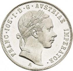 Monedă > 20сreițari, 1852-1856 - Austria  - obverse