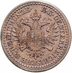 Moneta > 3kreiceriai, 1851 - Austrija  - obverse
