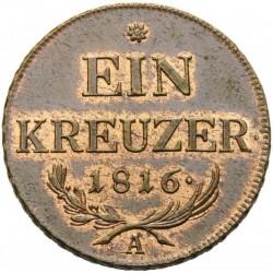 Moneda > 1kreuzer, 1816 - Àustria  - reverse