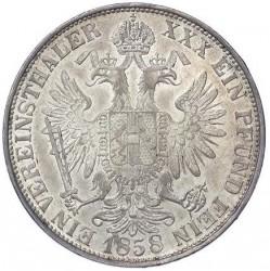 Münze > 1Vereinstaler, 1857-1865 - Österreich   - reverse
