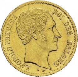 Mynt > 10francs, 1849-1850 - Belgien  - obverse