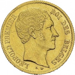 Moneta > 10franchi, 1850 - Belgio  - obverse